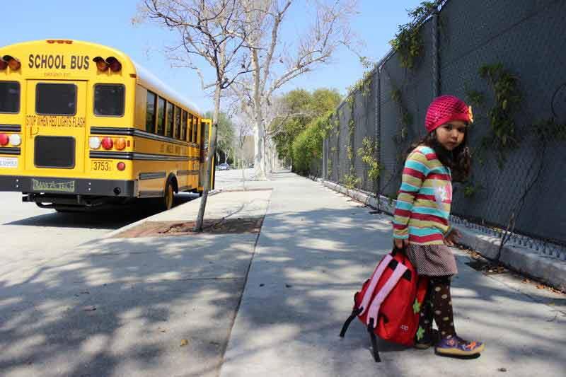 Ngày đầu tiên đi học