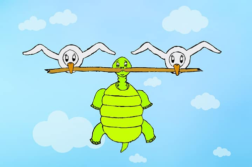 Ngỗng và rùa